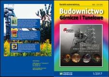 Budownictwo Górnicze i Tunelowe, 2017, nr1