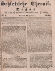 Schlesische Chronik, 1836, Jg. 1, No. 8