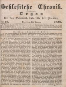 Schlesische Chronik, 1836, Jg. 1, No. 18