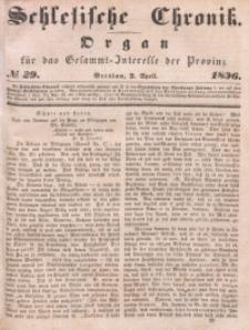 Schlesische Chronik, 1836, Jg. 1, No. 29