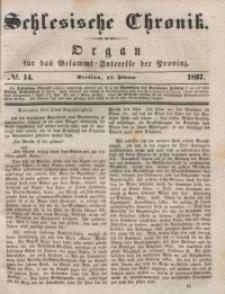 Schlesische Chronik, 1837, Jg. 2, No. 14