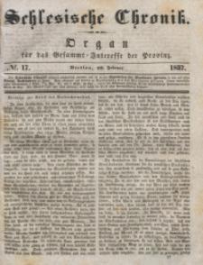 Schlesische Chronik, 1837, Jg. 2, No. 17