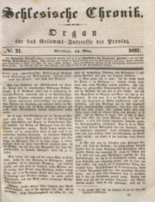 Schlesische Chronik, 1837, Jg. 2, No. 21