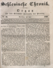 Schlesische Chronik, 1837, Jg. 2, No. 46