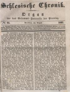 Schlesische Chronik, 1837, Jg. 2, No. 65
