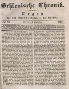 Schlesische Chronik, 1837, Jg. 2, No. 70