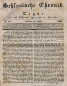 Schlesische Chronik, 1837, Jg. 2, No. 81
