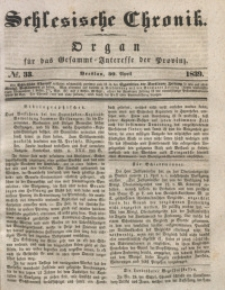 Schlesische Chronik, 1839, Jg. 4, No. 33