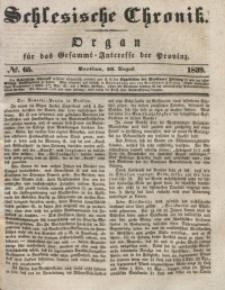 Schlesische Chronik, 1839, Jg. 4, No. 65