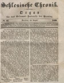 Schlesische Chronik, 1839, Jg. 4, No. 67