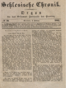Schlesische Chronik, 1841, Jg. 6, No. 10