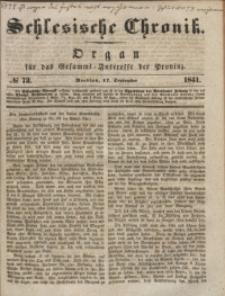 Schlesische Chronik, 1841, Jg. 6, No. 73