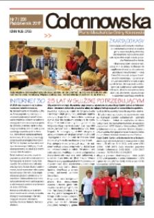 Colonnowska : pismo mieszkańców Gminy Kolonowskie 2017, nr 7 (206).