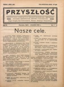 Przyszłość, 1935, R. 2, Nr. 7/9