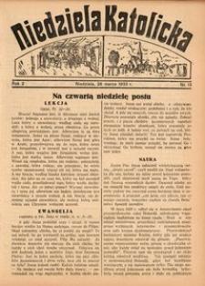 Niedziela Katolicka, 1933, R. 2, Nr. 13
