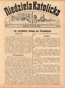 Niedziela Katolicka, 1933, R. 2, Nr. 25