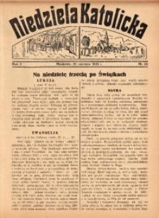 Niedziela Katolicka, 1933, R. 2, Nr. 26