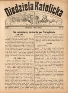 Niedziela Katolicka, 1933, R. 2, Nr. 27
