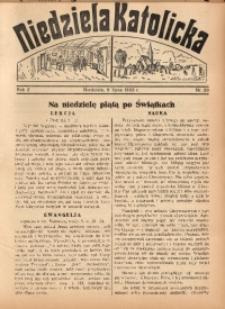 Niedziela Katolicka, 1933, R. 2, Nr. 28