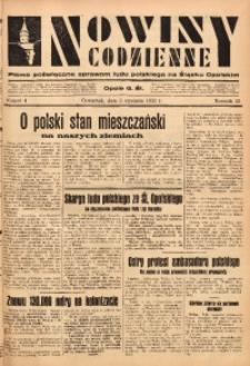 Nowiny Codzienne, 1933, R. 23, nr 4