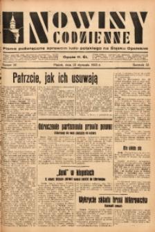 Nowiny Codzienne, 1933, R. 23, nr 10