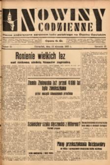 Nowiny Codzienne, 1933, R. 23, nr 15