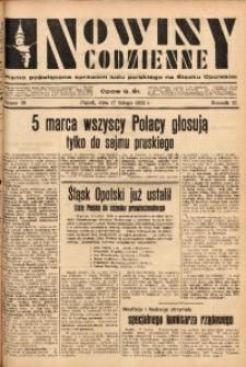 Nowiny Codzienne, 1933, R. 23, nr 39