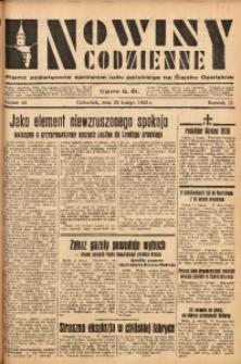 Nowiny Codzienne, 1933, R. 23, nr 44