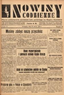 Nowiny Codzienne, 1933, R. 23, nr 61