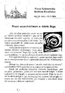 Nasza Kolonowska Rodzina Parafialna 2004, nr 46 (576).