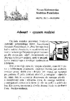 Nasza Kolonowska Rodzina Parafialna 2004, nr 48 (578).