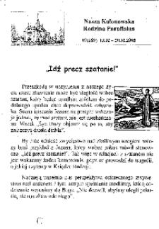 Nasza Kolonowska Rodzina Parafialna 2005, nr 7 (589).