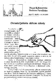 Nasza Kolonowska Rodzina Parafialna 2005, nr 36 (617) [618].