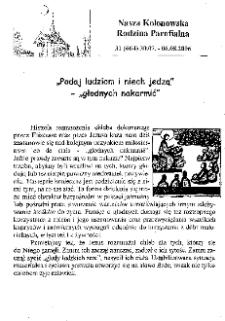 Nasza Kolonowska Rodzina Parafialna 2006, nr 31 (664).