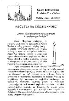 Nasza Kolonowska Rodzina Parafialna 2007, nr 33 (718).