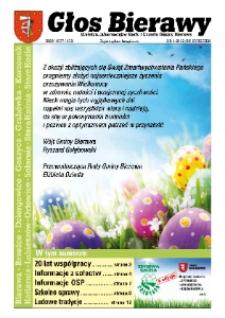 Głos Bierawy : biuletyn informacyjny Rady i Urzędu Gminy Bierawa 2012, nr 1 (60).