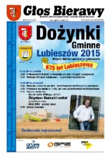 Głos Bierawy : biuletyn informacyjny Rady i Urzędu Gminy Bierawa 2015, nr 2 (70).
