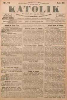 Katolik, 1920, R. 53, nr 79