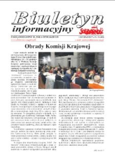 """Biuletyn Informacyjny """"Solidarność"""" 2017, nr 11 (402)."""