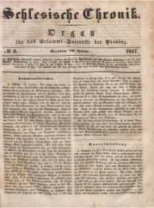 Schlesische Chronik, 1847, Jg. 12, No. 6