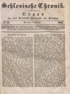 Schlesische Chronik, 1847, Jg. 12, No. 12