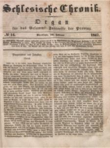 Schlesische Chronik, 1847, Jg. 12, No. 14