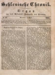 Schlesische Chronik, 1847, Jg. 12, No. 27