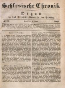 Schlesische Chronik, 1847, Jg. 12, No. 28