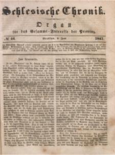 Schlesische Chronik, 1847, Jg. 12, No. 44