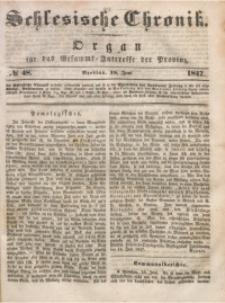 Schlesische Chronik, 1847, Jg. 12, No. 48