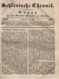 Schlesische Chronik, 1847, Jg. 12, No. 55