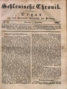 Schlesische Chronik, 1847, Jg. 12, No. 71