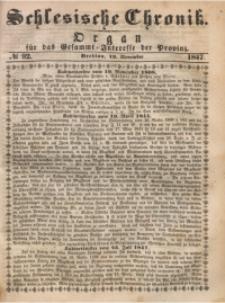 Schlesische Chronik, 1847, Jg. 12, No. 92