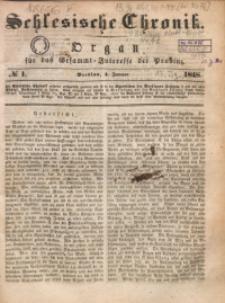 Schlesische Chronik, 1848, Jg. 13, No. 1